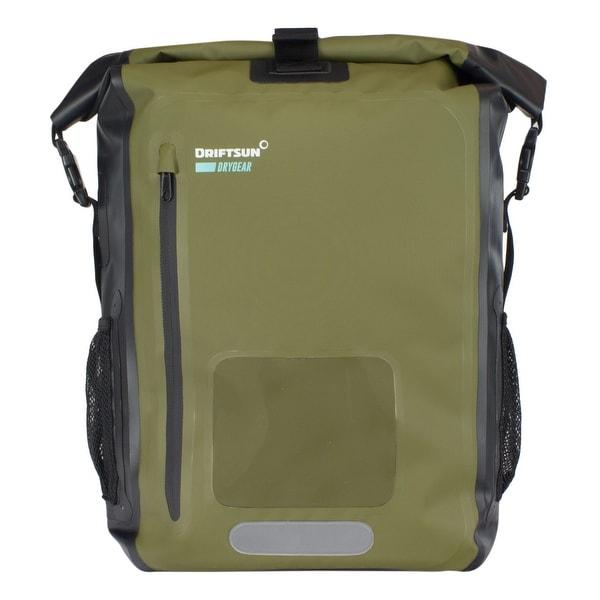Driftsun Dry Gear Roll-Top Waterproof Backpack | 20L and 40L | Padded Shoulder Straps, Laptop Sleeve, Front Pocket, 100 Waterpr