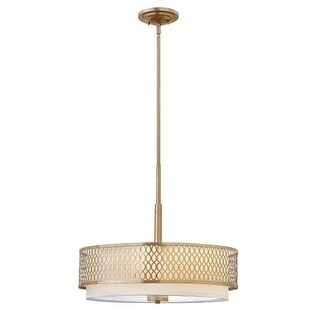 Fredrick Ramond FR35603 3 Light Drum Pendant from the Jules Collection