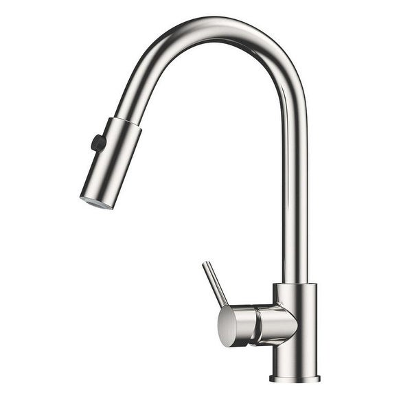 Shop Single Handle Sprayer Kitchen Faucet Tap One Hole Installation