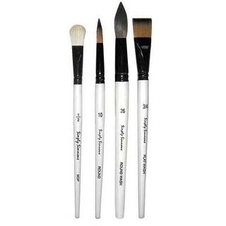 Robert Simmons - Simply Simmons Watercolor Brush - Oval Wash 1