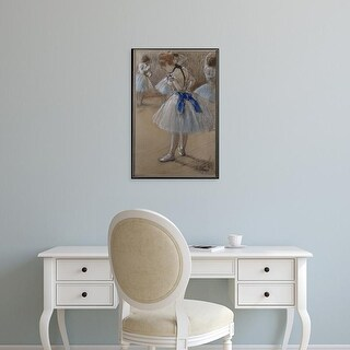 Easy Art Prints 's 'Two Dancers' Premium Canvas Art