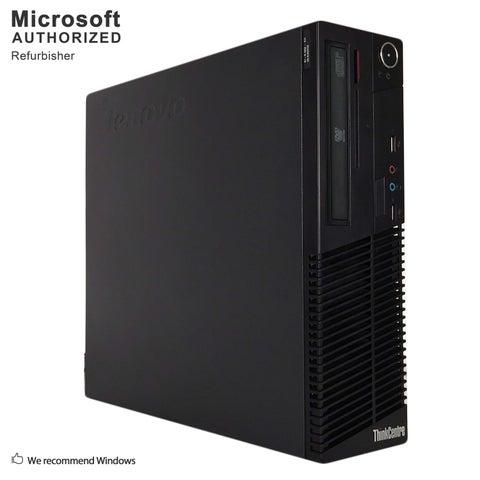 Lenovo M70E SFF, Intel E8400 3.0GHz, 8GB, 500GB HDD, DVD, WIFI, BT 4.0, VGA, W10H64 (EN/ES)-Refurbished