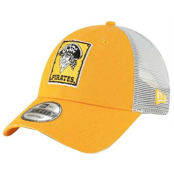 new styles a44f6 3486c new era 2019 mlb pittsburgh pirates baseball cap hat 1967 cooperstown truck  mesh
