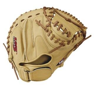Louisville Slugger 125 Series 33in Catcher Baseball Glove-RH - WTL12RB17CM