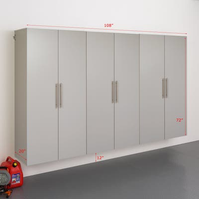 Prepac HangUps 3-piece 108-inch Storage Cabinet Set (E)