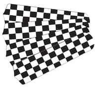 Checkered Flag Custom Designer 42in Ceiling Fan Blades Set - Multi