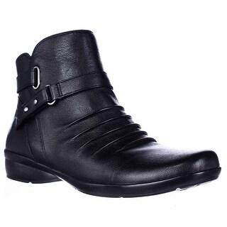 naturalizer Cassini Ankle Boots - Black