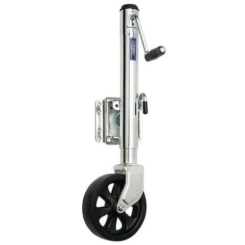 Fulton Single Wheel 1,500 lbs. Bolt-Thru Swivel Jack