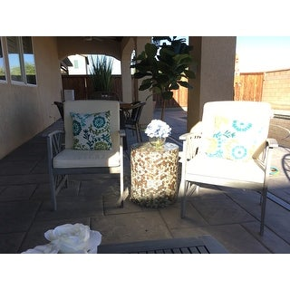 Shop Safavieh Outdoor Living Fontana Grey Wash/Beige 4 ... on Safavieh Outdoor Living Fontana id=76913