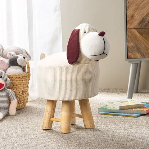 Mapleton Contemporary Kids Dog Ottoman by Christopher Knight Home