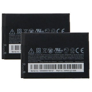 Battery for HTC RHOD160 (2-Pack) Replacement Battery