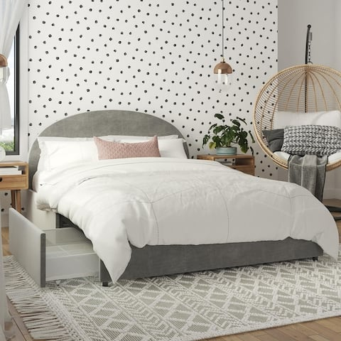Mr. Kate Moon Upholstered Bed with Storage