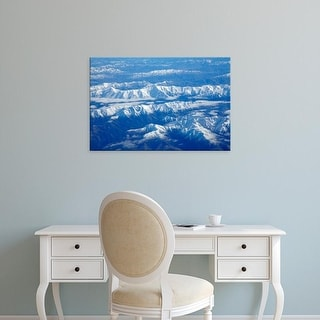 Easy Art Prints David Wall's 'Kaikoura Ranges Ii' Premium Canvas Art
