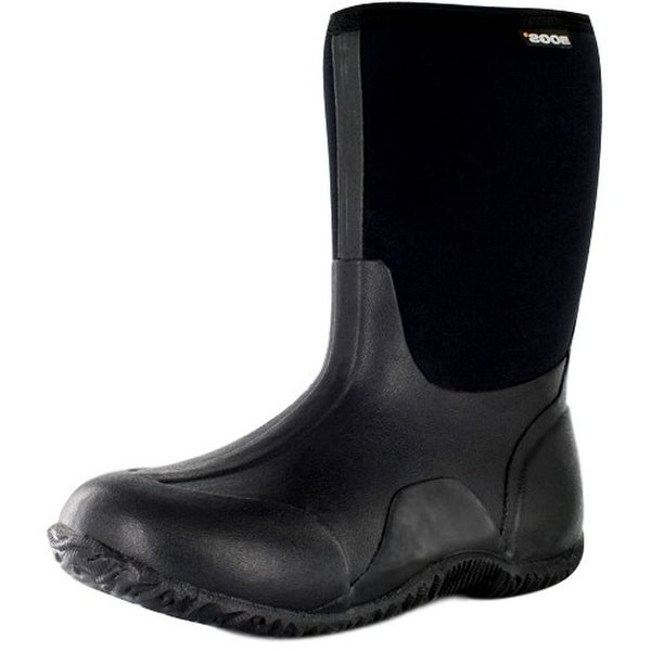 Bogs Outdoor Boots Womens Classic Mid Rubber Waterproof Black