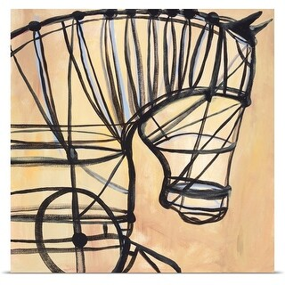 JC Pino Poster Print entitled Mechanical Horse