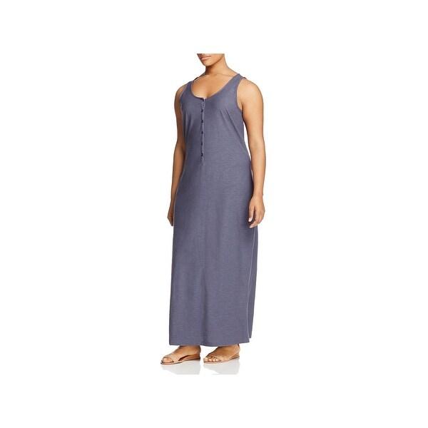 60fec6f5acdee6 Shop Junarose Womens Plus Maximar Maxi Dress Sleeveless Scoop - Free ...