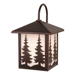 Vaxcel Lighting T0049 Yosemite 1 Light Outdoor Wall Sconce - 8.5 Inches Wide