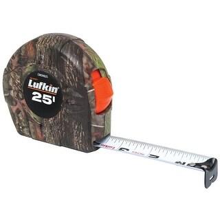 "Lufkin CMOH625 Tape Measure, Camouflage, 1"" x 25'"