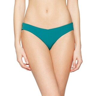 Heidi Klum Women's Savannah Sunset Low-Rise Ruched Swim Bottom Separates Multi - XSmall - XS