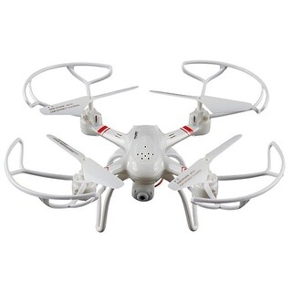 TechComm Super-S Compact 4-Axis RC Quadcopter Drone with Headless Mode
