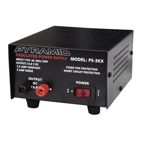 Pyramid ps3kx power supply pyramid 2 amp fully regulated