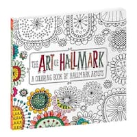 Hallmark 6385074 The Art of Hallmark Coloring Book- pack of 4