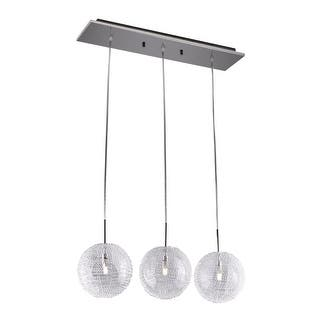 Buy bazz lighting chandeliers online at overstock our best bazz lighting p15024 lume 3 light 23 12 wide led linear chandelier aloadofball Image collections