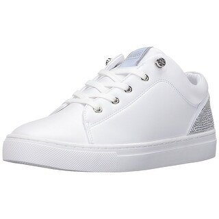 GUESS Womens Jollie Low Top Lace Up Fashion Sneakers