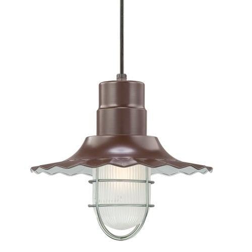 "Millennium Lighting RRWC12 R Series 1 Light 12"" Wide Pendant"