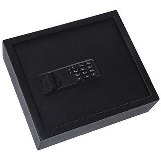 Ivation Keypad Large Digital Drawer Safe  4.37 x 13.7 x 11.8 Home Security Box, Backup Keys & Mounting Kit