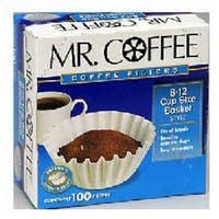 Mr. Coffee UF500PB Basket Filter 8-12 Cups - 500 Pack