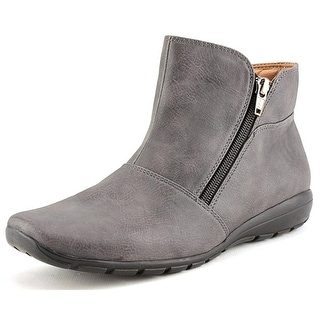 Easy Spirit Antaria Women Round Toe Synthetic Gray Ankle Boot