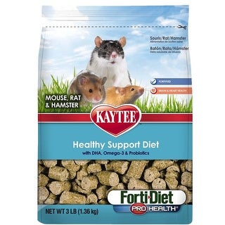 Kaytee Forti-Diet Pro Health Mouse/Rat 3lb