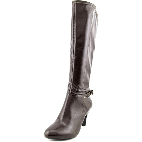 Naturalizer Britta Wide Calf Women Round Toe Synthetic Knee High Boot
