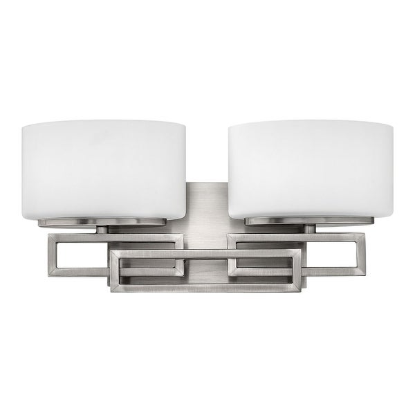 Hinkley Lighting 5102 2-Light Bathroom Vanity Light from the Lanza Collection
