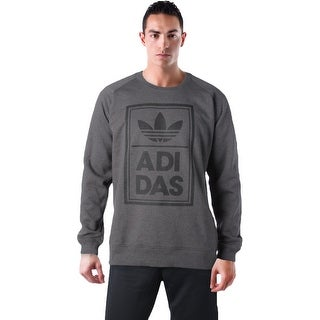 Adidas Originals Men's Box Stack Crewneck Sweatshirt
