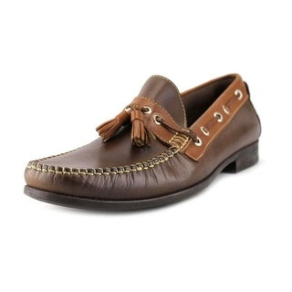 Sandro Moscoloni Doug Round Toe Leather Loafer