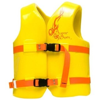 TRC Recreation Child's Super Soft Life Vest - 10210 - Yellow