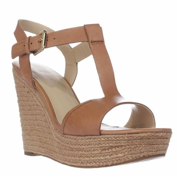 Marc Fisher Harlei Espadrille Wedge Sandals, Light Natural - 10 us