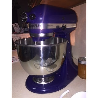 KitchenAid RRK150BU Cobalt Blue 5 Quart Artisan Stand Mixer (Refurbished)