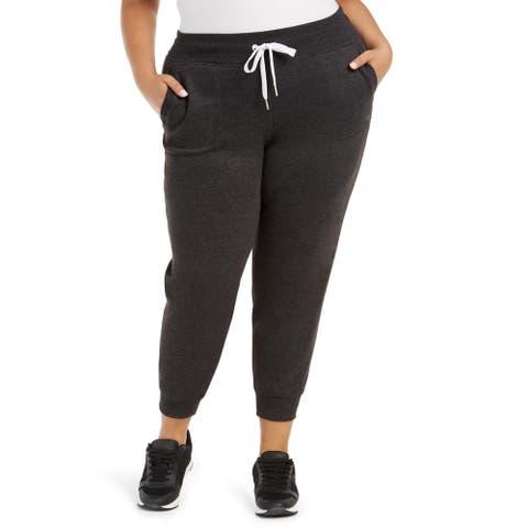 Calvin Klein Performance Womens Plus Sweatpants Fitness Activewear