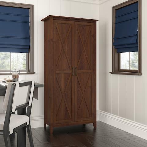 Key West Kitchen Pantry Cabinet by Bush Furniture