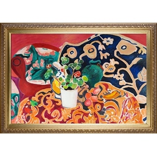 Henri Matisse 'Spanish Still Life' Hand Painted Oil Reproduction