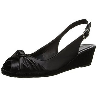 Sesto Meucci Womens Textured Peep Toe Slingback Heels - 6 medium (b,m)