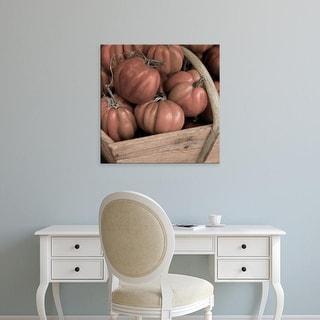 Easy Art Prints Alan Blaustein's 'Marketplace #16' Premium Canvas Art