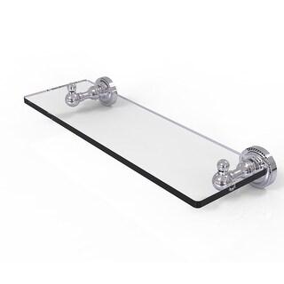 Allied Brass Dottingham Collection Single Glass Shelf