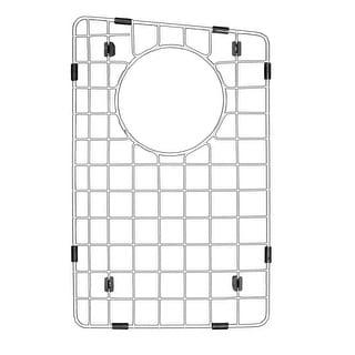 "Karran Stainless Steel Bottom Grid fits QT-711 and QU-711 - 9"" x 14-1/4"""