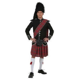 Plus Size Mens Scottish Costume