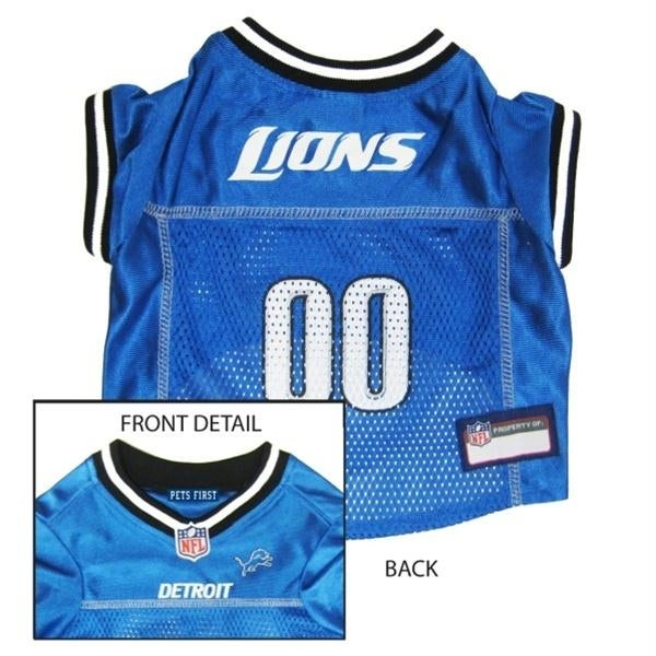 competitive price 65d6f 01e34 Detroit Lions Dog Jersey - X-Small