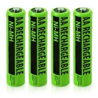 NiMH AA 4 Pack NiMH AA Batteries